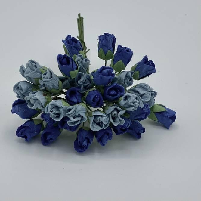 Bilde av Lukket rose, blå