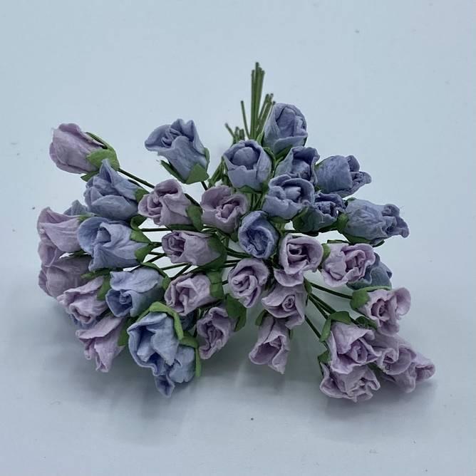 Bilde av Lukket rose, lys vintage