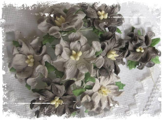 Bilde av Små gardenia ,grå (6)